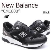 【送料無料】New Balance CM1600/Black【ニューバランス】【ブラック】【CM16...