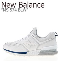 63c856b3b5d02 ニューバランス 574 スニーカー New Balance メンズ レディース MS 574 BLW New Balance574 BLUE WHITE  ブルー ホワイト MS57... ニューバランス 574 スニーカー New ...