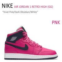 NIKE AIR JORDAN 1 RETRO HIGH GG/Vivid Pink/Dark Ob...