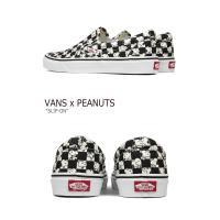 バンズ VANS x Peanuts SLIP-ON メンズ レディース CHECKERBOARD ピーナッツ スリッポン チェッカーボード VN0A38F7QQO シューズ