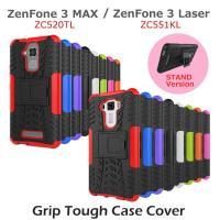 ZenFone 3 MAX ZenFone 3 Laser ケースカバー グリップタフスタンドケース...