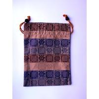 便利な巾着袋。やわらかい布製なのでバッグにも入れやすいです。お財布や貴重品入れにオススメ。墓参用品を...