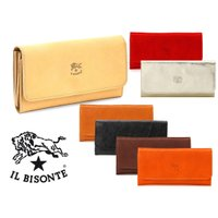 イルビゾンテ(Il Bisonte)レザー長財布/Continental Wallet in Cowhide Leather  C0775P/2018年新入荷モデル