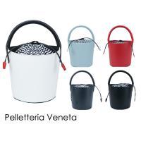送料無料!セール! ペレッテリアベネタのこだわりのイタリア製バケツバッグ。 技術の高い職人の手で1点...