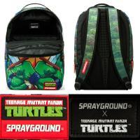 クリアランス/スプレーグラウンド(Sprayground)ミュータントタートルズ コラボリュックサック/TMNTバックパック/11種類
