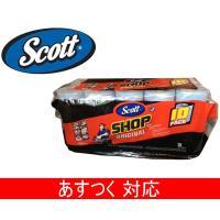 商品名:Scott スコット カーショップタオル  内容量:1ロール55シート×10ロール  サイズ...