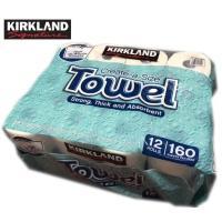 商品名: KIRKLAND/コストコ カークランド キッチンペーパータオル  商品説明: ・吸水性が...