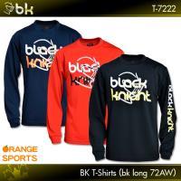 752dd839f89f ブラックナイト バドミントン 長袖Tシャツ BKTシャツ bkロング72AW T-7222 男女兼用 black knight ロングTシャツ テニス  スカッシュ