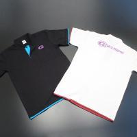 GOKUSPE オリジナルデザインポロシャツ (ブラック/ホワイト) (120055)   カラー:...