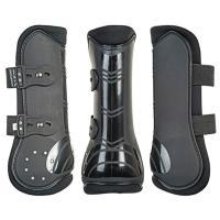 馬の肢を保護する乗馬用品,馬具です。  前肢と後肢の4肢セットです。  スッポリおわん型で愛馬の肢を...