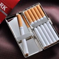 スリムロングサイズのタバコ専用ケース コンパクトなシガレットケースでお洒落にお出かけ用に。男女どちら...