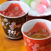 名入れ プレゼント ギフト 有田焼 赤富士 焼酎カップ ペアセット  この商品は店長が一目ぼれをした...
