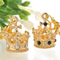 彫刻無し プレゼント 王冠チャーム   まとめてお返しギフト・プチギフト  素敵な王冠のチャーム 好...