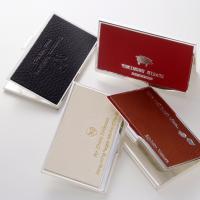 名入れ プレゼント 箔押し印刷込-イタリアンメタルカードケース   イタリアでも10世紀もの歴史を持...