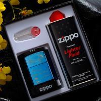 ZIPPOジッポライターギフトセットボックス  バレンタインプレゼントにセットで。直ぐに使えてお薦め...