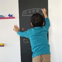 お子様も大喜び!子供部屋のインテリアにおすすめな壁にらくがきができる黒板シート♪ 黒板シート 長方形...