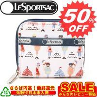 レスポ 財布 LeSportsac レスポートサック 財布 二つ折り小銭 6505 2101 ビーチーキーン 新作 満載 取扱店舗
