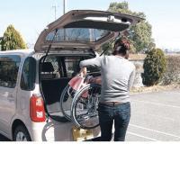 軽量車椅子 ふわりす  KF16-40SB 介助タイプ 8.9kg あんずイエロー   カワムラサイクル代引き不可商品