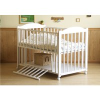 ☆クラシカルなデザインのお買い得ベッド ☆安全、安心な日本製品 *赤ちゃんにやさしい素材/塗料、接着...
