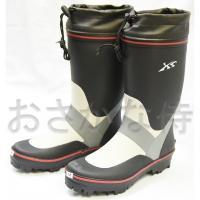 ■カラー:ブラック×グレー ■本体素材:ゴム ■靴底素材:ソールゴム・スチール  S  :24.0-...
