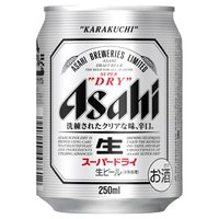 アサヒスーパードライ 250ml缶 24本 4ケースまとめ買い  ギフト対応いたします。 ていねいに...