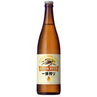 キリン一番搾り生ビール 大びん 633ml 20本入 ギフト用は、のし蓋にての対応いたします。 プラ...