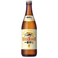 キリン 一番搾り 生ビール 中びん 500ml 20本入 ギフト用は、のし蓋にての対応いたします。 ...