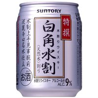 サントリー 特撰白角水割 250ml缶 24本入 4ケースまとめ買い お酒屋さんジェーピー   ギフ...