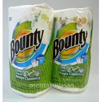 Bounty はキッチンの必需品! バウンティのペーパータオルは、華やかなプリントが入って素敵なキッ...
