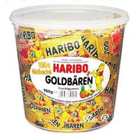 HARIBO ハリボー 【ミニゴールドベア】 バケツ(980g/100袋入り) グミキャンディ   ...