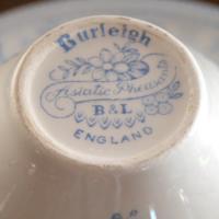 イギリス食器バーレイ社 ブルーアジアティックフェザンツ カップ&ソーサー180ml ostuni 06