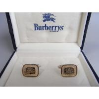 英国紳士ブランド BURBERRYSのカフス 素材はシルバー925のゴールドプレート  ●サイズ:1...