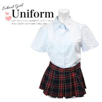 コスプレ 衣装 レディース セーラー服 制服 女子高生 ミニスカート AKB48 コスチューム コス...