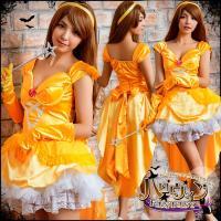 1:ヘッドリボン 2:ドレス 3:グローブ M/XL ドレス 着丈(肩から):73/75 (内、40...