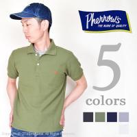 フェローズ(Pherrow's)鹿の子ポロシャツ PPS1