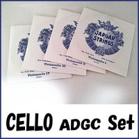 Jargar Cello Strings SET A.D.G.C  ヤーガー チェロ弦 セット   ...
