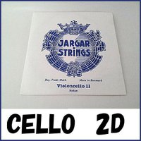 Jargar Cello String D ヤーガー チェロ弦 D線  柔らかな音色が特徴の弦で、 ...