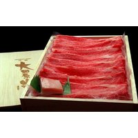 大田原牛【赤身霜降】すき焼・しゃぶしゃぶ用スライス約500g(3~4名様用)