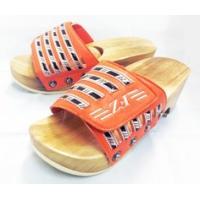 [健康サンダル「ツボ球」]、新発売、日本初の「健康サンダル」「足つぼスリッパ」特許庁・実用新案登録、[足裏刺激物ツボ球]オレンジ|otodoke-shopping
