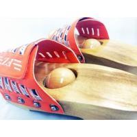[健康サンダル「ツボ球」]、新発売、日本初の「健康サンダル」「足つぼスリッパ」特許庁・実用新案登録、[足裏刺激物ツボ球]オレンジ|otodoke-shopping|04