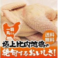 比内地鶏1羽丸ごと(中抜き)|otodoke-shopping