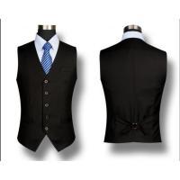 国内発送二点送料無料メンズイギリス風 ビジネス カジュアル 細身フォーマルベストメンズ ジレ ベスト スーツ