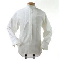 ベーシックなスタンドカラーシャツです 【素材】綿100% 【サイズ】 Sサイズ 首回40cm 肩巾 ...