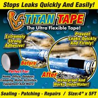 アメリカ発祥!今話題の防水テープです! 発祥となったアメリカ合衆国では補修をはじめ様々な用途に使われ...