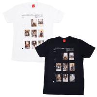 V/SUAL ヴィジュアル ビジュアル CONTACT SHEET 002 TEE 2色 半袖Tシャツ カットソー 黒 ブラック 白 ホワイト サマーセール
