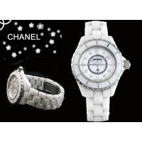 【CHANEL シャネル 腕時計 J12 ホワイトセラミック マザーオブパール H2422 レディー...