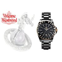 【Vivienne Westwood ヴィヴィアンウエストウッド 'Ceramic' VV048GD...