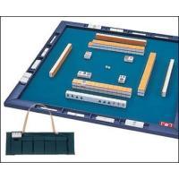 コンパクトに収納できる麻雀セットです。さっと広げて2本のワクを差し込めばたちまち麻雀卓が出来上がり。...