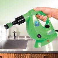洗剤不要で経済的!これ1台でお家まるごとクリーニング!小型軽量化したハンディタイプのスチーマー。強力...