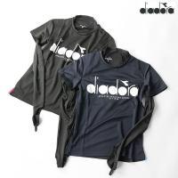 テニスウェア ディアドラ DIADORA レディース DTP9525 インナーセット 2010 半袖Tシャツ 2点セット ゆうパケット対応